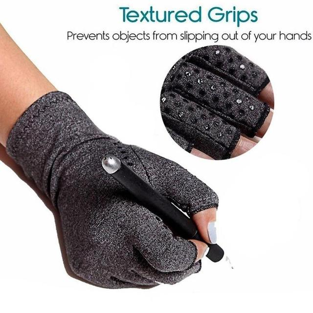 Magnetic Anti Arthritis Health Compression Therapy Gloves Rheumatoid Hand Pain Wrist Rest Sport Safety Glove 4