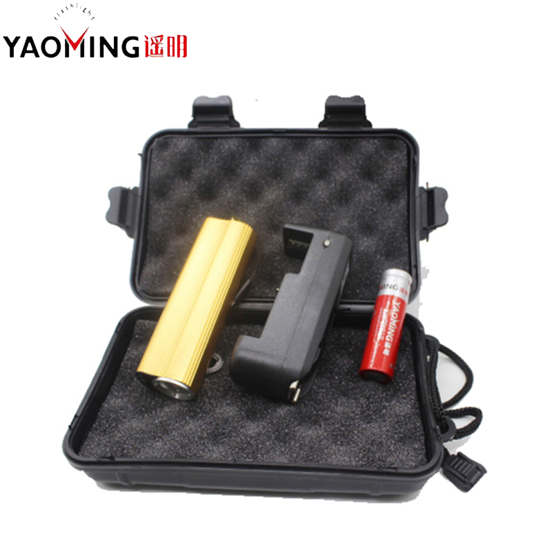 Gift Box CREE 2000LM USB LED Flashlight 18650 Rechargeable Torch Lamp With Electronic Cigarette Lighter Linternas Power Bank
