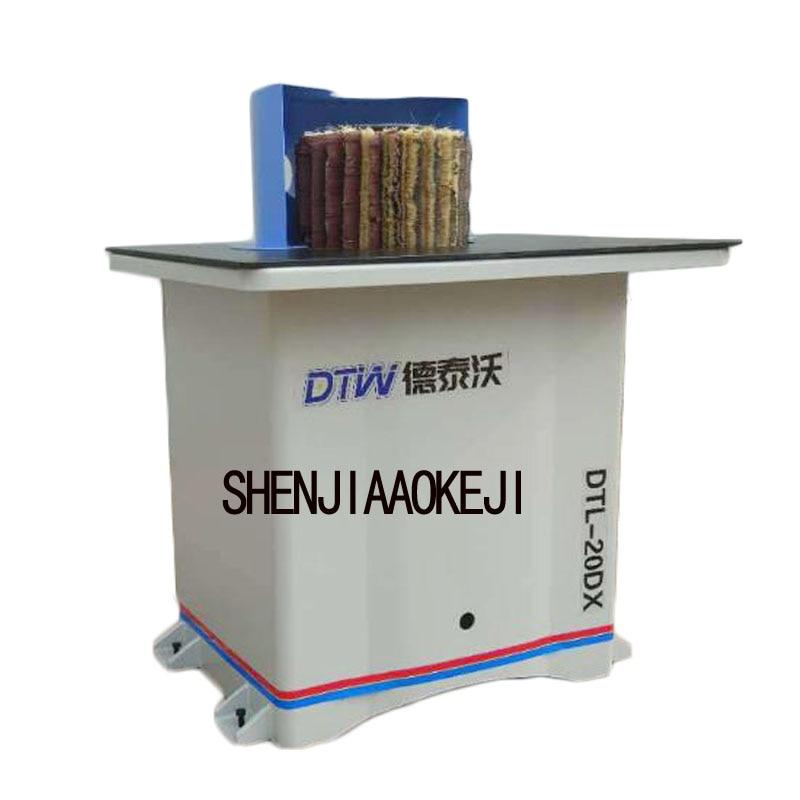 DTL-20DX polisher Single vertical manual polishing machine Electric lift Woodworking manual sander 380V/220V 1pc ms3140 flat sander machine drum sand machine roller sander automatic feed sander 1442r min 220v 1pc