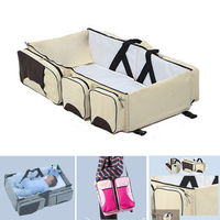Multi function Portable Travel Bed Cradle Cot For Newborns Changing Diapers Mummy Pack Bag Newborns Baby Crib