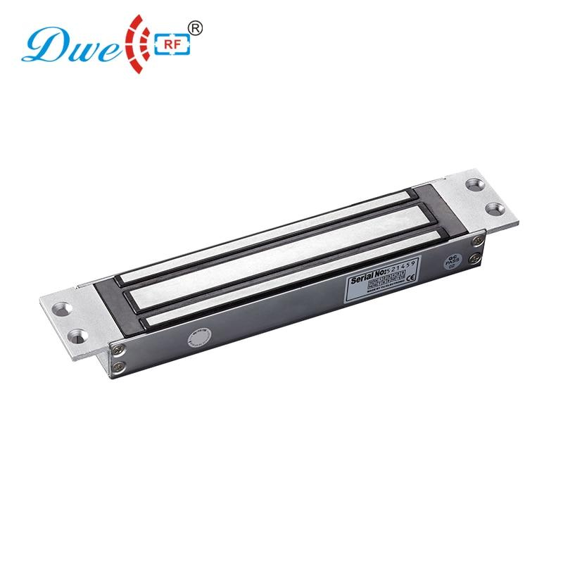 купить DWE CC RF security access control single door electric lock 600 lbs holding force mortise mount magnetic lock по цене 4835.97 рублей