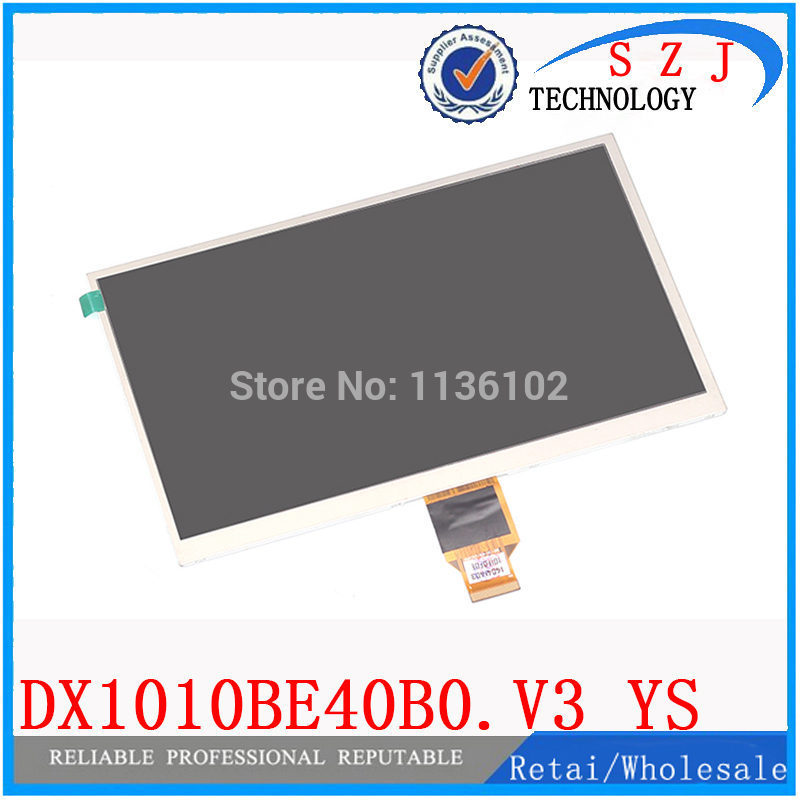 New 10.1'' inch DX1010BE40B0.V3 YS FC101TFTCP40A KR101LE3S TFT LCD Display SCREEN 1024*600 for ALLWINNER A10 A13 tablet pc a065vl01 v3 lcd screen