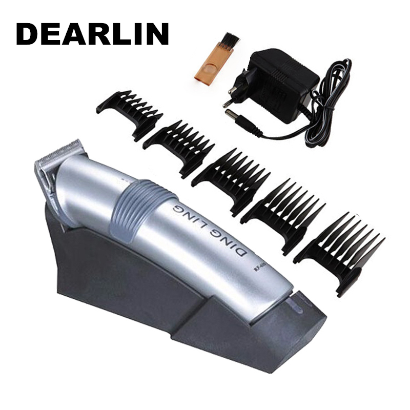 RF-609 Dearlin Trimmer Electric Hair Clipper Rechargeable Hair Shaver Razor Cordless Adjustable Hair Cut Machine 220V 50Hz