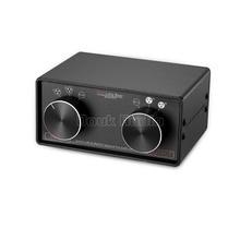 3 IN 3 OUT XLR Gebalanceerde/RCA Stereo Converter Audio Selector Box Passief Voorversterker Voor Thuis versterker