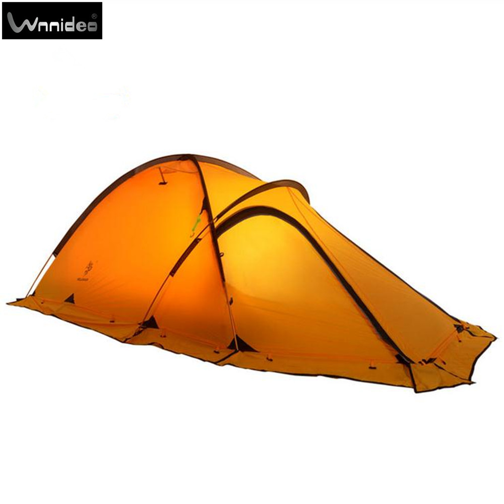 Wnnideo 2 Person 20d Lightweight Backpacking Alpine Tent