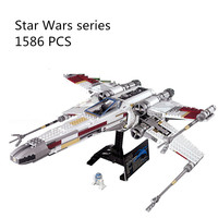 LEPIN 05039 Star Wars Cool Model Red Five X Starfighter Wing Self Locking Bricks Toy Compatible