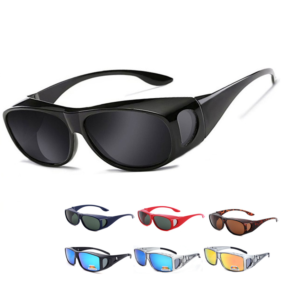Fitover Sunglasses Polarized Fit Over Glasses For Myopia Cycling Fishing Camping Driving UV Sport Eyewear Polarized Lenses Jp