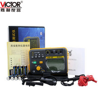 VICTOR VC60F Genuine Digital Insulation Resistance Tester Mega Ohm Meter 2500V