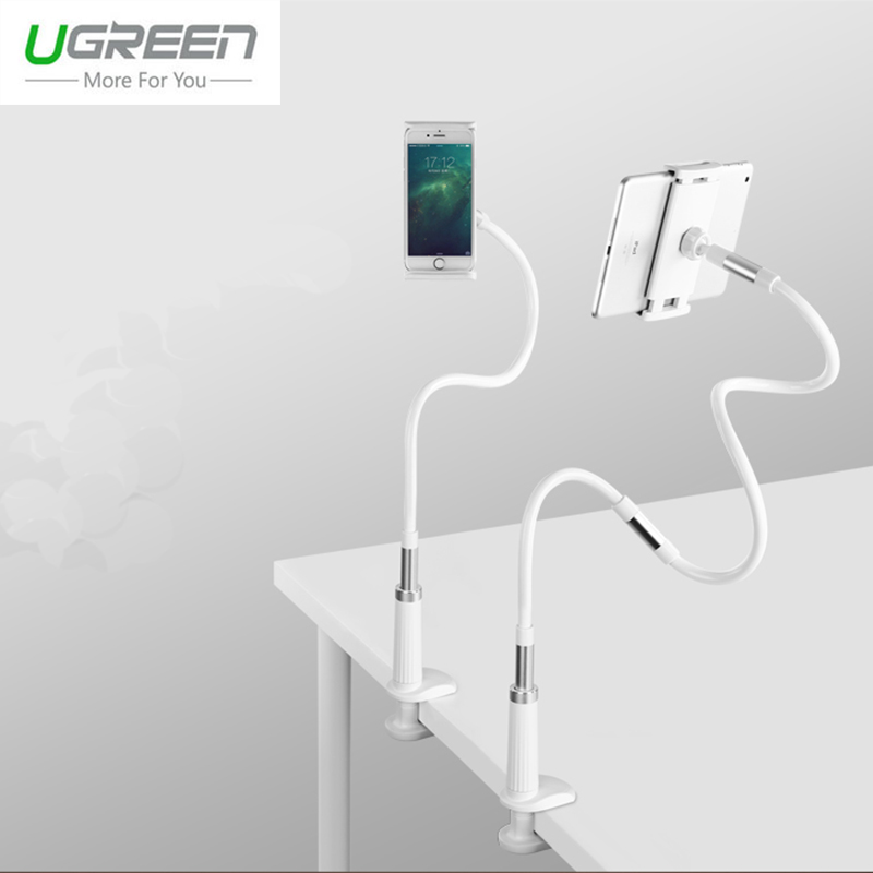 bilder für Ugreen Universal Faul Telefonhalter Für iPhone 6 S Langen Arm telefon halter Für Tablet Desktop-ständer Für Samsung-anmerkung 7 Telefon Halterung