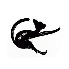 2 PCS/Set Women Cat Line Eyeliner Stencils Pro Eye Makeup Tool Eye Template Shaper Model Easy to make up set Tools smashbox cat eye set