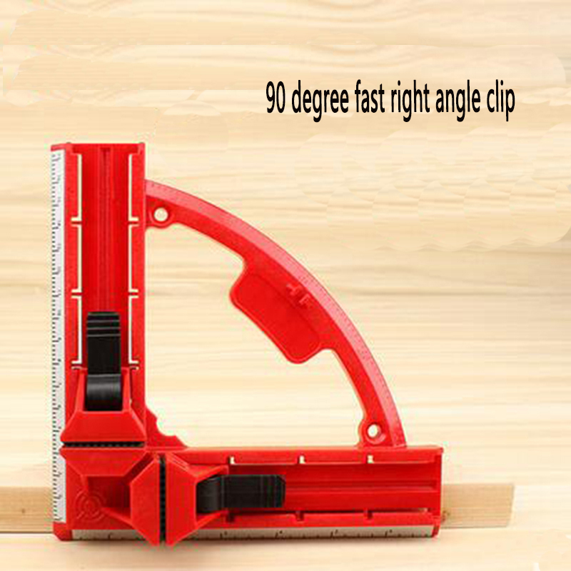 Reinforced woodworking right angle clip 90 degree angle for Right angle house
