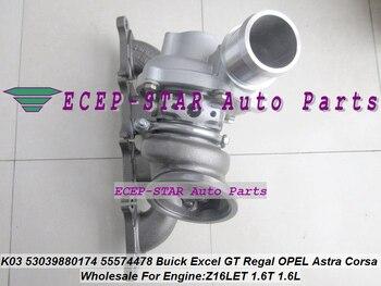 Turbo K03 53039880110 53039700110 5860016 55355617 For Opel Astra H J Corsa Insignia Meriva Z16LET Z16LER 1.6L 132KW 07-