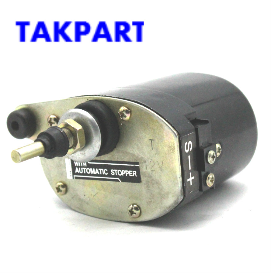 New 12V Universal Wiper Motor with Long Shaft for Tractor