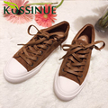 2017 Spring Autumn New Casual Shoes Single Shoes Genuine Leather Flat Lace Up Classic Style Board Shoes For Girls
