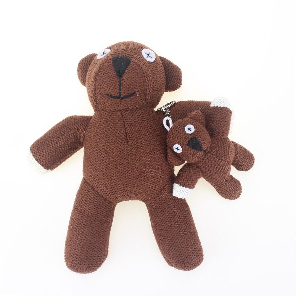 11 см Мишка Мягкие и плюшевый медведь брелок чучела Животные Мишка Куклы небольшой кулон милые плюшевые Игрушечные лошадки