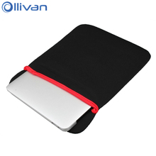 "Ollivan 7"" 8"" 10"" Soft Tablet Sleeve Bag For Kindle e-Books Liner Pouch For iPad Mini 1/2/3/4 Protective Case Cover For iPad Air(China)"