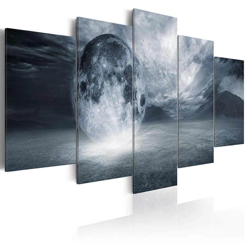 5 pieces/set Movie poster series Picture Print Painting On Canvas Wall Art Home Decor Living Room Canvas Art PJMT-B (86)