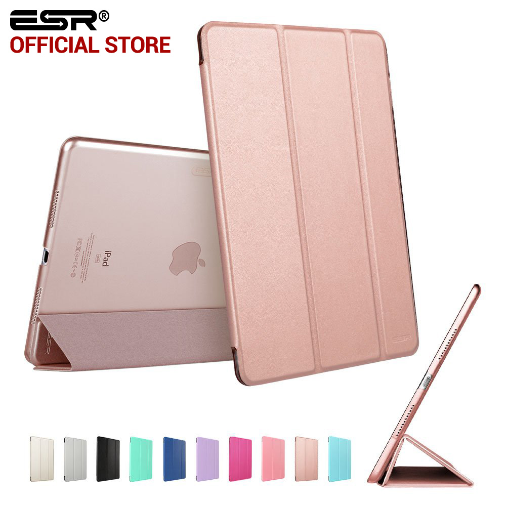 Case for iPad Pro 9.7 inch, ESR Smart Cover with Trifold Stand Magnetic Auto Wake Tablet Case for iPad Pro 9.7 inch 2016 Release case for ipad pro 12 9 inch esr pu leather tri fold stand smart cover case with translucent back for ipad pro 12 9 2015 release