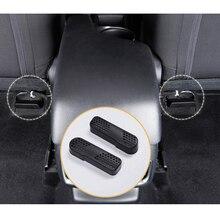 2 шт. под заднее сиденье автомобиля кондиционер воздуховод выход крышка для Mazda 3 Axela CX-4 CX-5 ATENZA Автомобильная Крышка вентиляционного отверстия кондиционера сетка