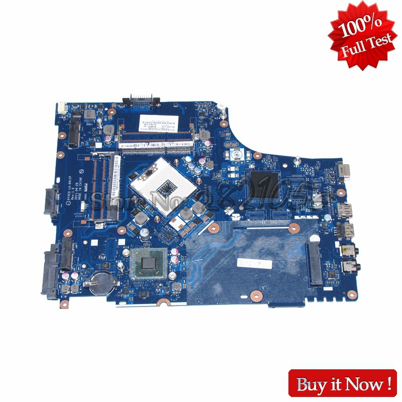 NOKOTION Laptop Motherboard LA-6911P For Acer aspire 7750 7750Z MBRN802001 MB.RN802.001 3AMFG P7YE0 HM65 GMA HD DDR3 mbrr706001 mb rr706 001 laptop motherboard fit for acer aspire 5749 series da0zrlmb6d0 c0 hm65