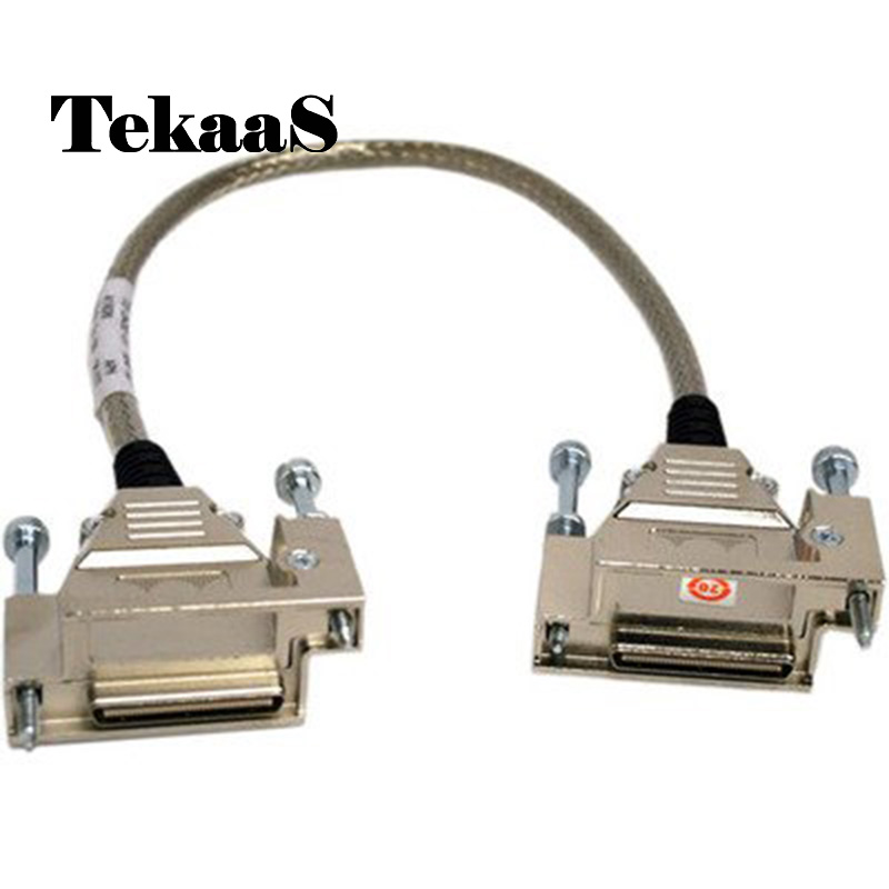 High quality Tekaas CAB-STACK-3M compatible for Cisco StackWise 3m Stacking Cable dhl ems 4 sets genuine for cis co cab spwr 150cm stacking power cable for for cis co 3750x switch