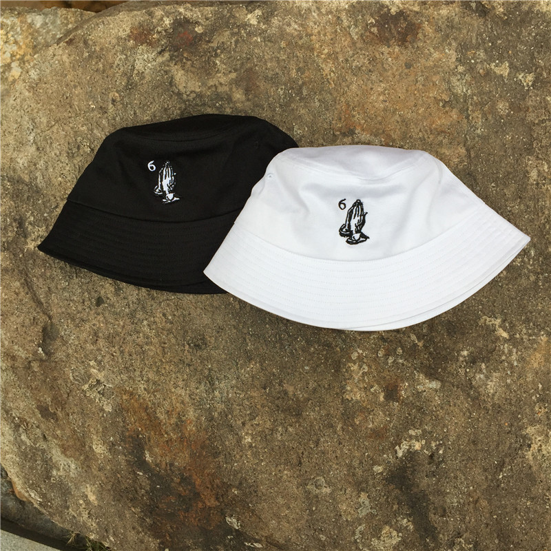 786ba3b4945 coupon hat bucket hat funny smile wheretoget 2a658 30254  order drake 6 god  pray ovo bucket cap embroidery baseball caps outdoor sports gorras adult men