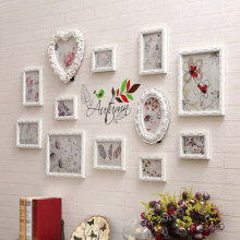 European photo frame wall decoration living room carved creative  wall-mounted bedroom