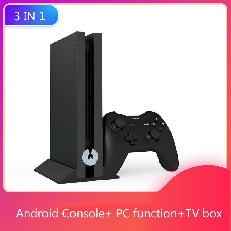 Android Game Console PC Function TV Box Games Mini TV Game Console HD Retro Classic Handheld Gaming Player AV Output Video image