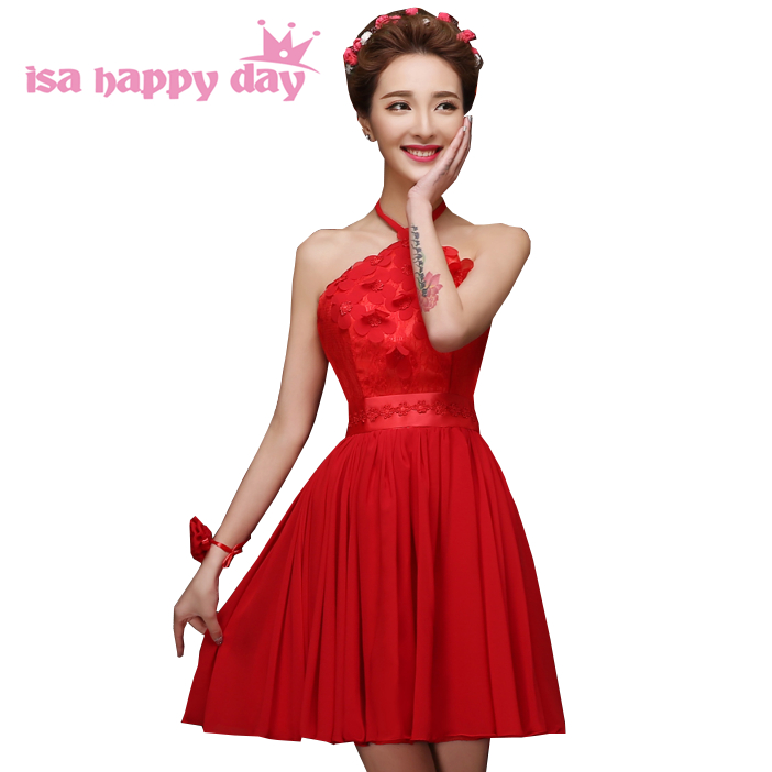 new bride short red special occasion teens lace up prom dresses summer 2019  fashion ball dress 31986e5eb06b