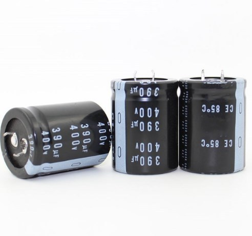 390 UF 400 V condensateur électrolytique En Aluminium 400 V 390 UF 30*40mm