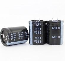 390 UF 400 V อลูมิเนียม electrolytic capacitor 400 V 390 UF 30*40 มม.