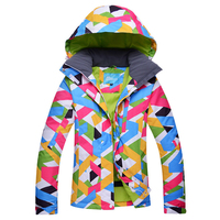 Brand New Winter Ski Jackets Suit Women Outdoor Waterproof Snowboard Jackets Climbing Snow Skiing Clothes