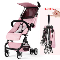 New lightweight baby stroller summer baby trolley kids outdoor simple mini pocket umbrella car for 0 3 years old