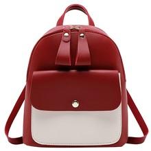 Fashion back pack Lady Shoulders Small Backpack Letter Purse Mobile Phone Bag women shoulder bag mochila feminina #YL5