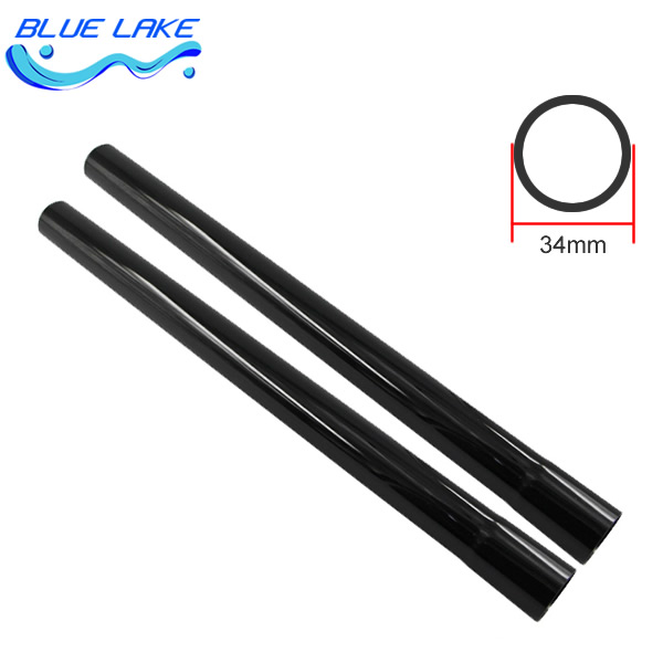 Vacuum Cleaner black straight tube/pipe/Connector,extended tube,2 pcs,For (brush inner 35mm) ,vacuum cleaner parts