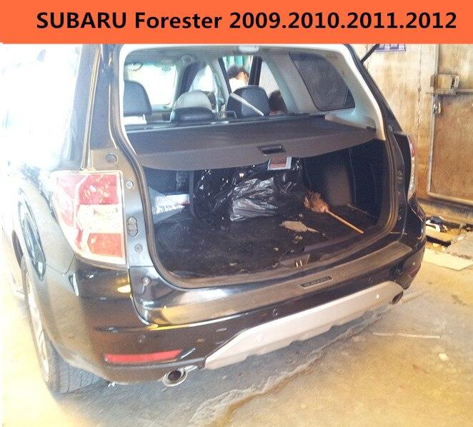 Couvercle de protection de coffre arrière de voiture pour SUBARU Forester 2009.2010.2011.2012 accessoires Auto noir Beige de haute qualité