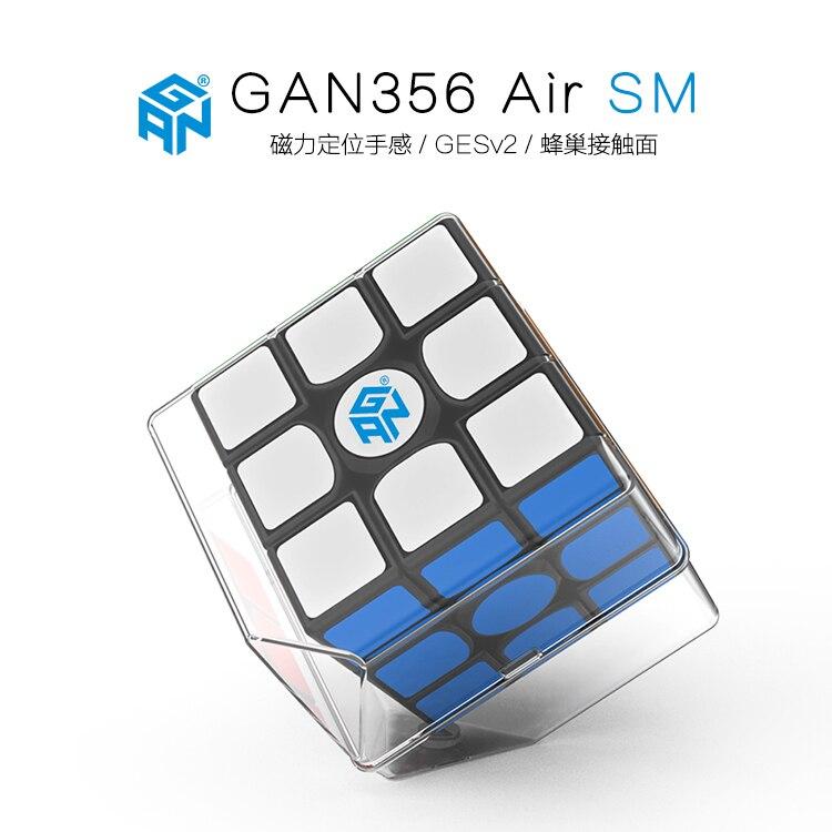 Gan 356 Air SM 3x3x3 Version de mise à jour 2019 Cube de vitesse magnétique professionnel 3x3 Cube magique Puzzle torsion jouets éducatifs pour enfant