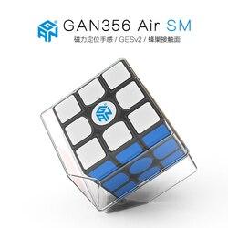 Gan 356 Air SM 3x3x3 wersja aktualizacji 2019 prędkość magnetyczna Cube Professional 3x3 magiczna kostka układanka do przekręcania edukacyjne zabawki dla dzieci|Magiczne kostki|Zabawki i hobby -