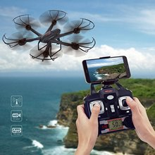 MJX X601H FPV RC Quadcopter Wifi HD Video Real-time Camera Drone Altitude-Hold One-Key Return Headless Mode RC Hexacopter