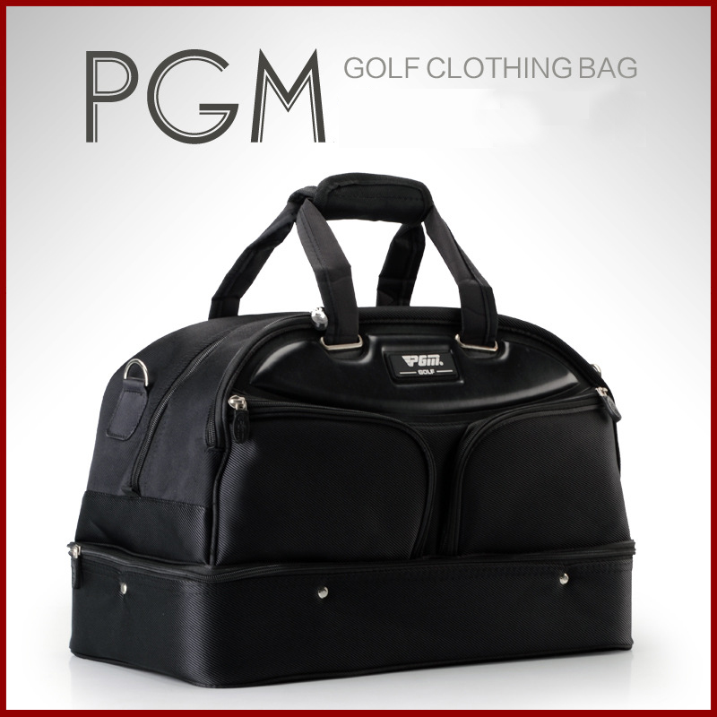 купить PGM Top Quality Golf Clothing Bag For Man Waterproof Nylon High Capacity Durable Golf Bag Capacity Double Layer Shoes Handbag по цене 3195.2 рублей