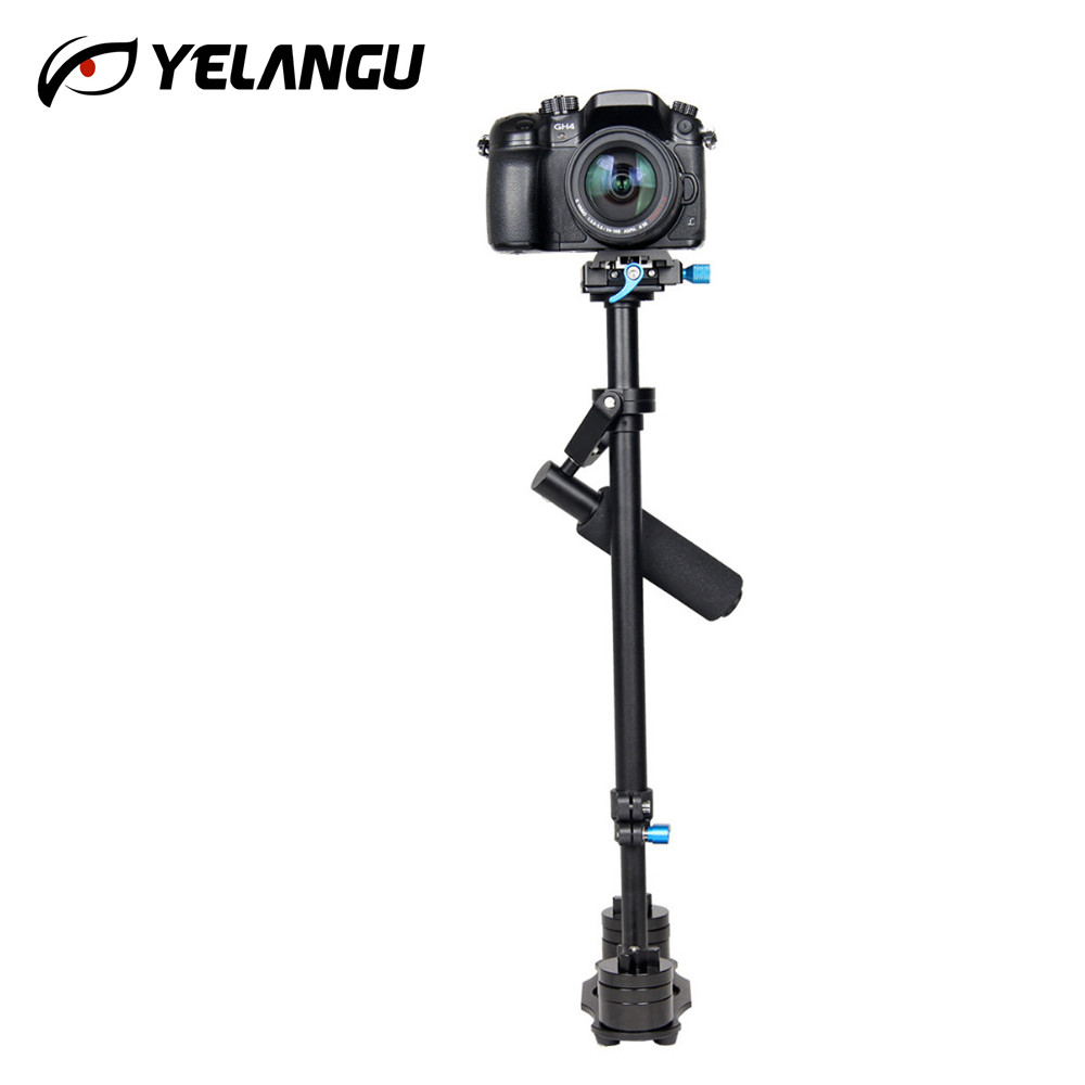 Professional S60 60cm Handheld Camera Stabilizer Steadicam Video Steadycam Camcorder Steady Cam for Nikon Canon Sony Panasonic professional s60 66cm handheld camera stabilizer for camcorder digital camera canon nikon sony dslr mini steadycam t150 3