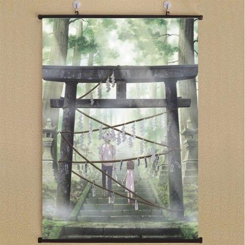 zhoulei345zj Hotarubi No Mori E The Light Of A Firefly Forest Home Decor Poster Wall Scroll