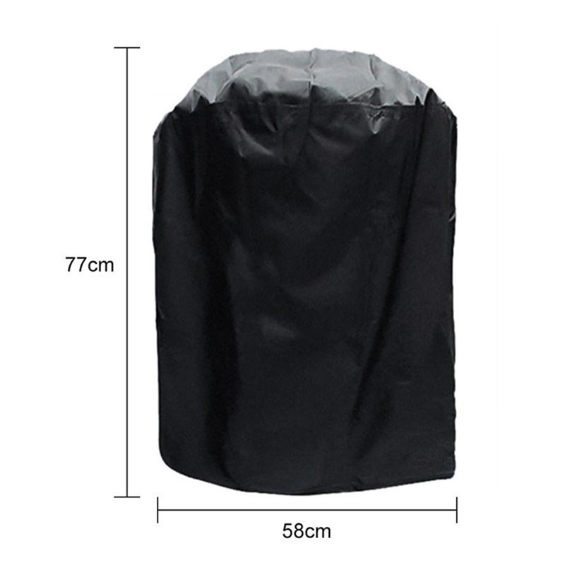 Waterproof BBQ Cover Heavy Duty BBQ Accessories Grill Cover Rain  Anti Dust Rain Gas Charcoal Electric Barbeque