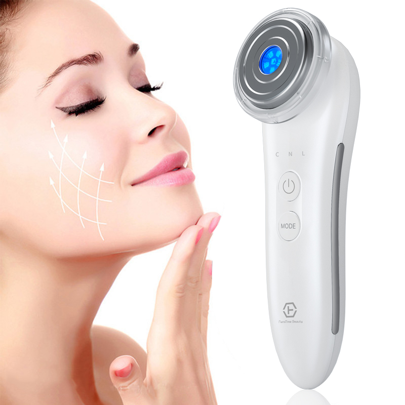 Microcurrent Face Lift EMS Photon Beauty Machine Anti Wrinkle Skin Rejuvenation Firming Lifting Nouris Deep Cleansing