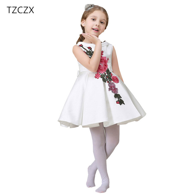 0206ab566 TZCZX-2020 تعزيز نمط جديد الأطفال الفتيات اللباس يزين الكرة ثوب حزب الاطفال  اللباس الملابس