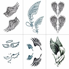 Buy Wing Tattoo And Get Free Shipping On Aliexpress Com