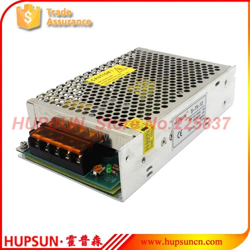 714049 s 15 5 75W S-75 220vAC to 5v 15a 12v 15v 24v DC industrial LED driver switching power source power supply transformer free shipping