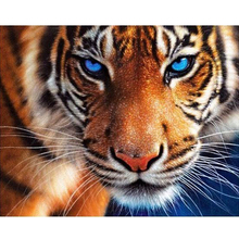 OLY 2016 hot sell  5D Diy Diamond painting 3D cross stitch diamond embroidery tiger full diamonds animal