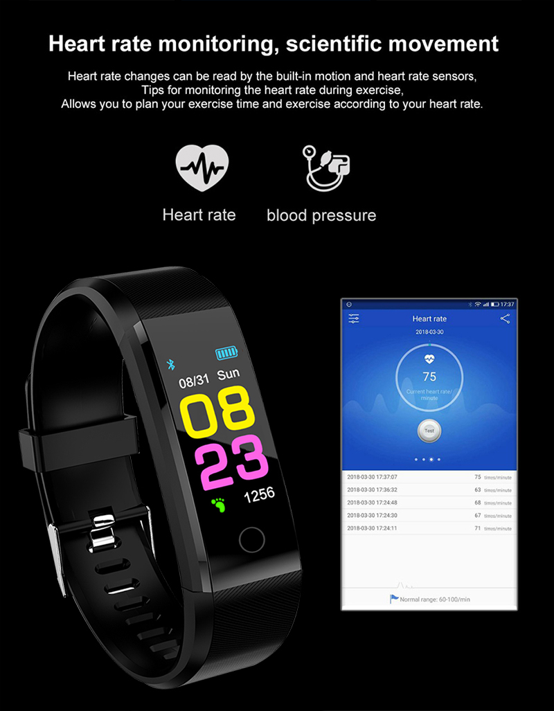 Smart watch for women and men