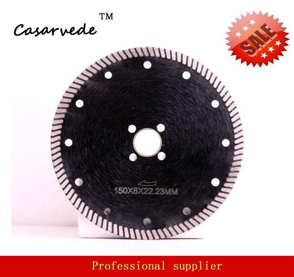 Free Shipping Premium Quality DC-CRTB04 Professional 150mm 6 Inch Diamond Circular Saw Blade For Stone Cutting